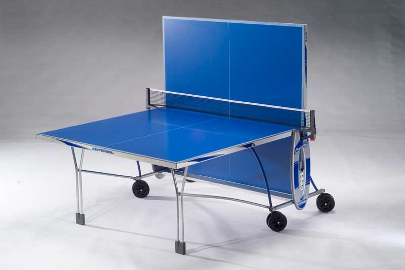 Table ping pong tennis de table cornilleau 140 indoor - Table ping pong cornilleau exterieur ...