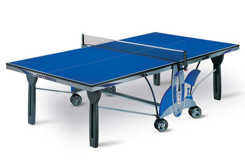 Table ping pong tennis de table cornilleau 440 indoor - Dimension table de ping pong cornilleau ...