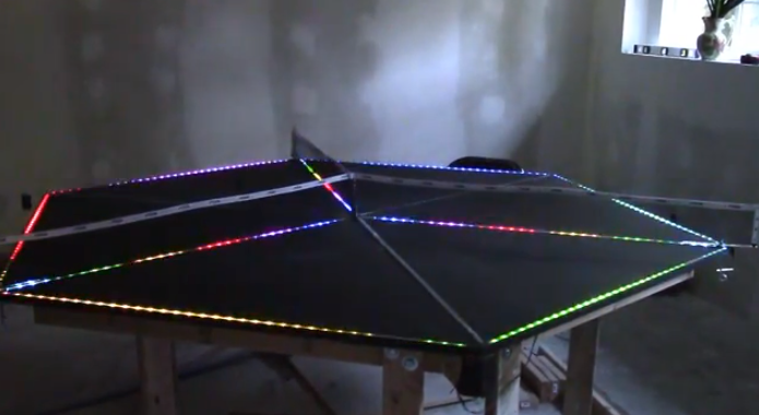 Table Ping Pong Multijoueurs Led
