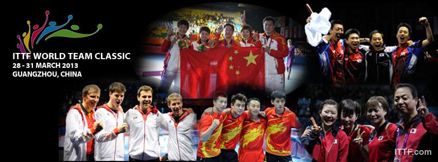 Championnats du Monde tennis de table par équipes