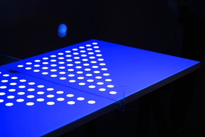 Table Ping Pong moderne musique