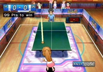 Family Ping Pong - jeu sur wii