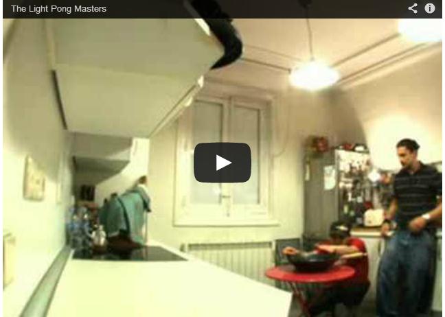 Light Pong Master