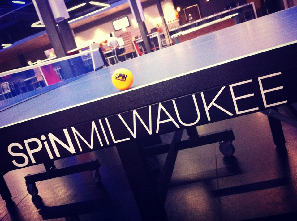 Bar de Ping Pong Spin Milwaukee
