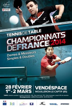 Affiche Championnats de France 2014