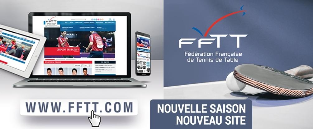 Nouveau site de la fftt - Federation francaise de tennis de table classement ...