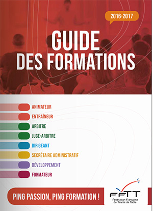 Guide des formations FFTT 2016-2017