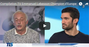 Emmanuel Lebesson Champion d'Europe