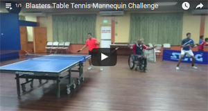 Ping Pong Mannequin Challenge