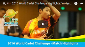 2016 World Cadet Challenge