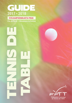 Guide du Championnat PRO de tennis de table