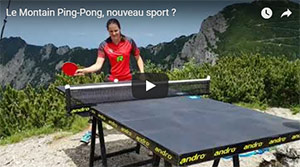 Sabine Winter et le Montain Ping Pong