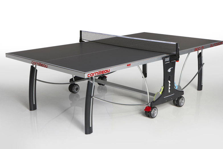Table ping pong tennis de table cornilleau 300 m outdoor - Hauteur filet tennis de table ...