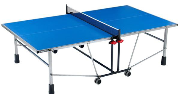 table de ping pong artengo 785 table de lit a roulettes. Black Bedroom Furniture Sets. Home Design Ideas