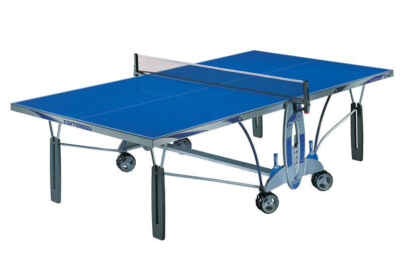 Table ping pong tennis de table cornilleau 240 outdoor - Table ping pong cornilleau exterieur ...