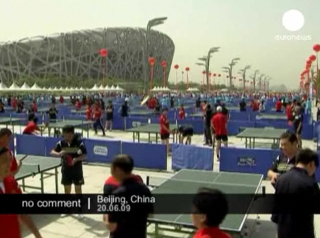 1000 tables de Ping Pong en Chine