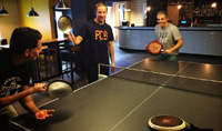 A poils Ping Pong