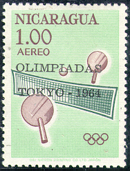 Timbres tennis de table