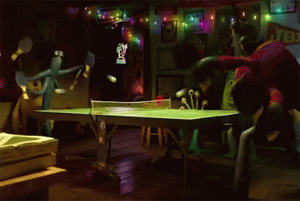 Monstres et Compagnie au Ping Pong