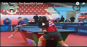 Table tennis is beautiful