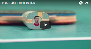 Nice Table Tennis Rallies