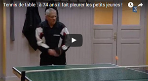 Reportage France 3 tennis de table