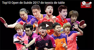 Top 10 Open de Suède de tennis de table