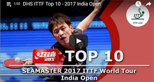 Open d'Inde 2017 de tennis de table