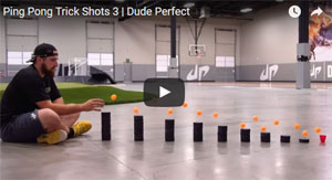 Dude Perfect Trickshot