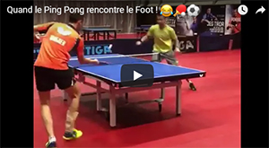 Quand le Ping Pong rencontre le Foot