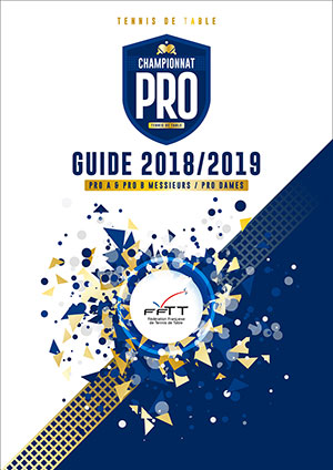 Guide Championnat Professionnel de tennis de table