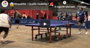 Incroyable roulette au Ping Pong