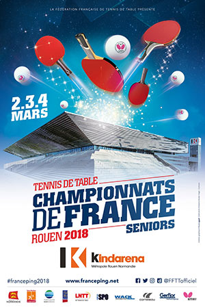 Championnats de France 2018 de tennis de table