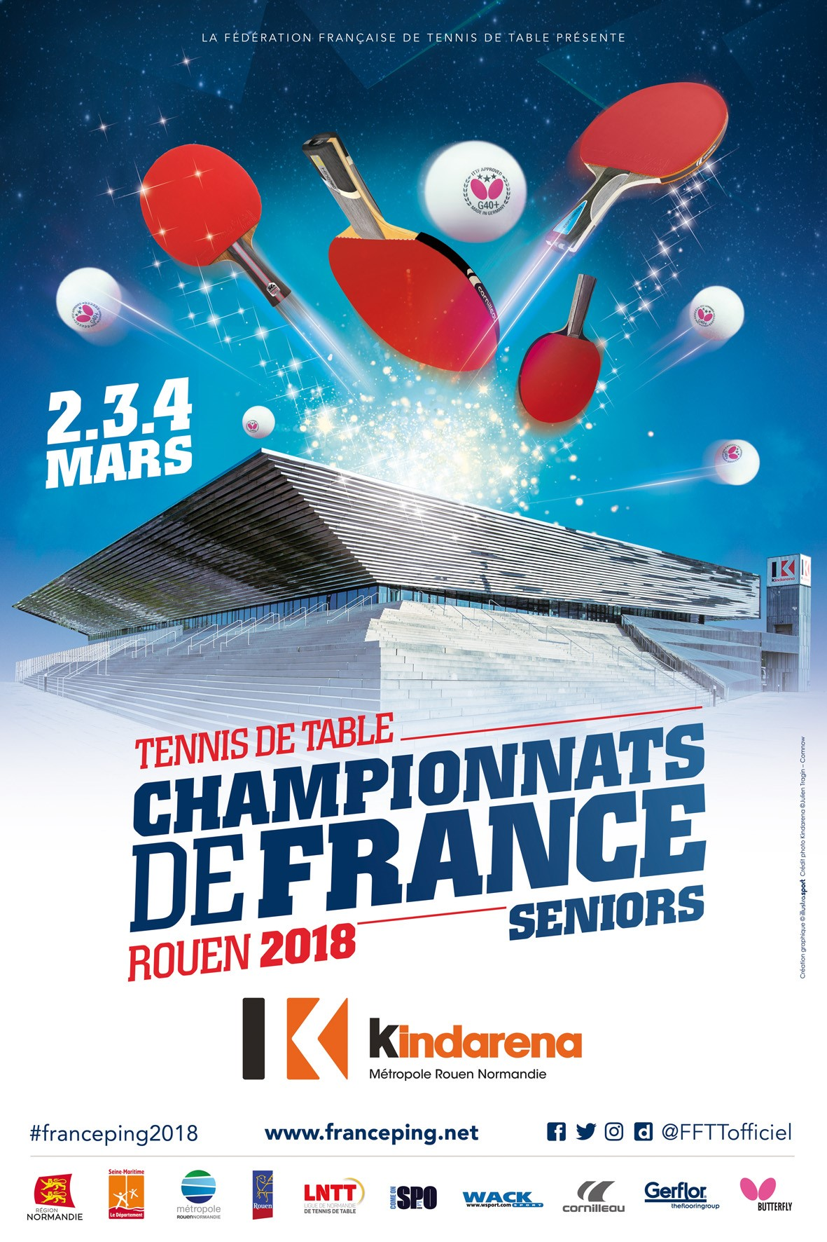 R sultats des championnats de france 2018 de tennis de table - Championnat de france de tennis de table ...