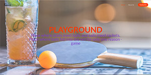 Bar PlayGround Ping Pong