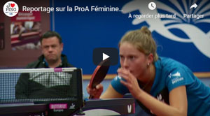 Reportage Quimper tennis de table