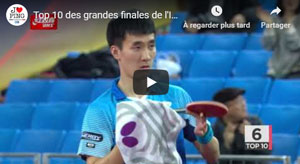 Ittf World Tour Grandes finales