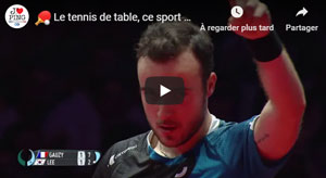 Le meilleur du tennis de table