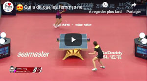 Best Of Ping Pong Féminin