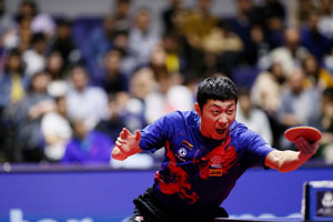 Xu Xin remporte l'Open du Japon 2019